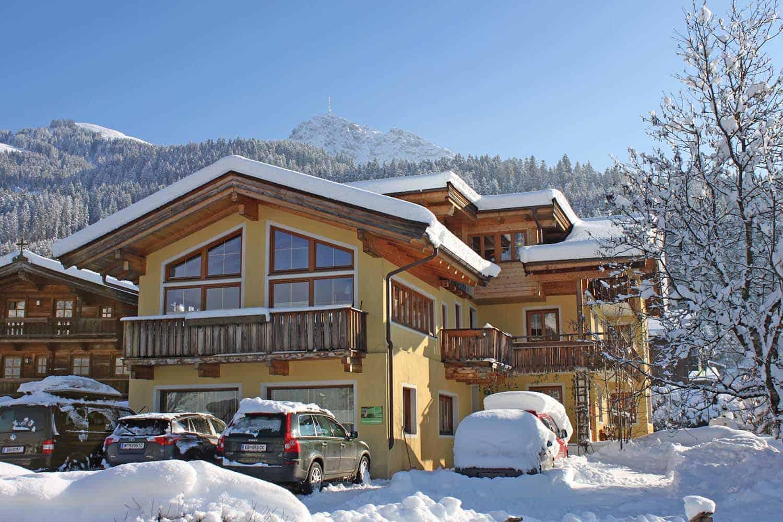 3 Gehminuten vom Hotel Penzinghof und der Skipiste entfernt