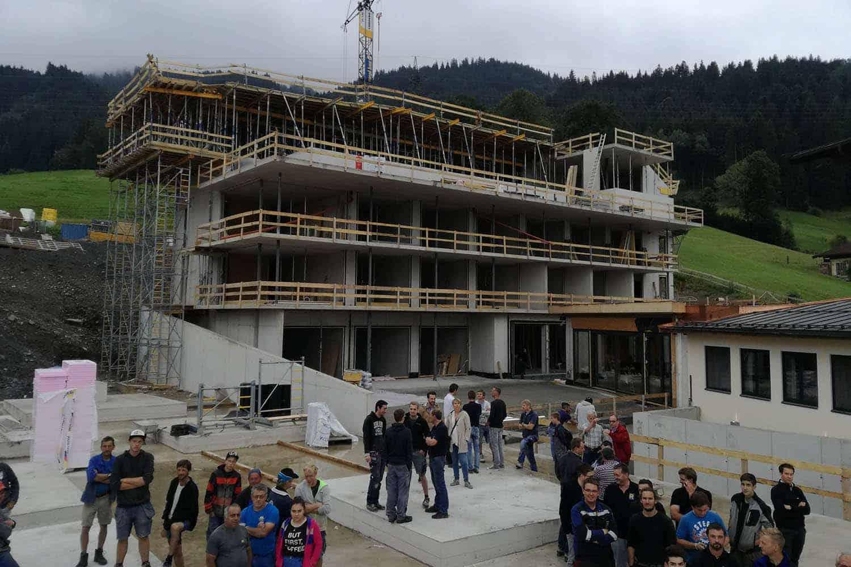 Ausführenden Baufirmen