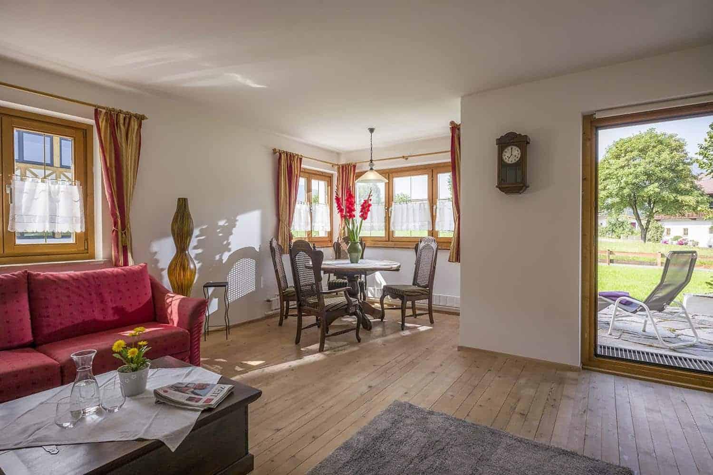 Ferienwohnungen am Roemerweg Penzinghof Oberndorf Wohnzimmer