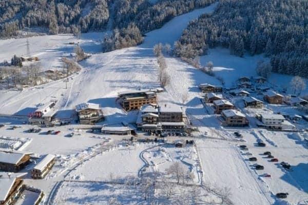 Hotel Penzinghof Winterlandschaft