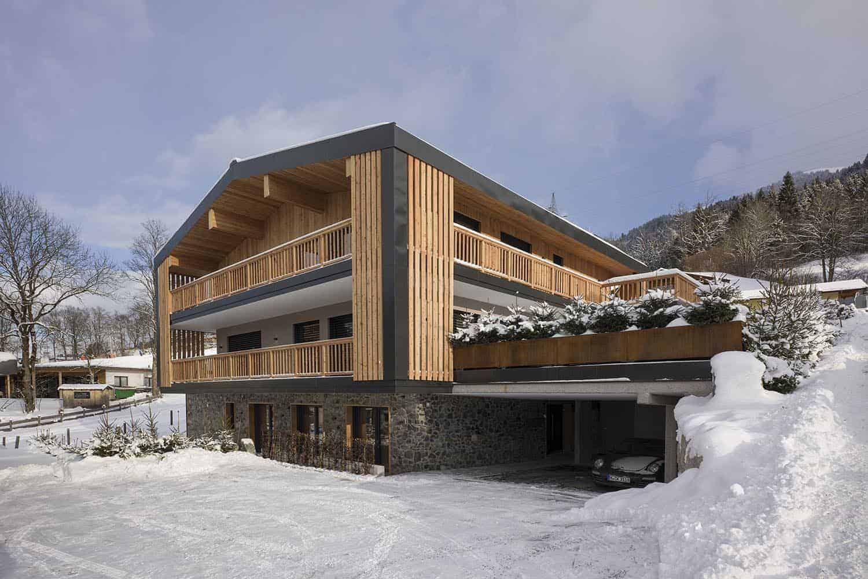 Hotel PEnzimghof Penzingweg  Oberndorf Haus Winter
