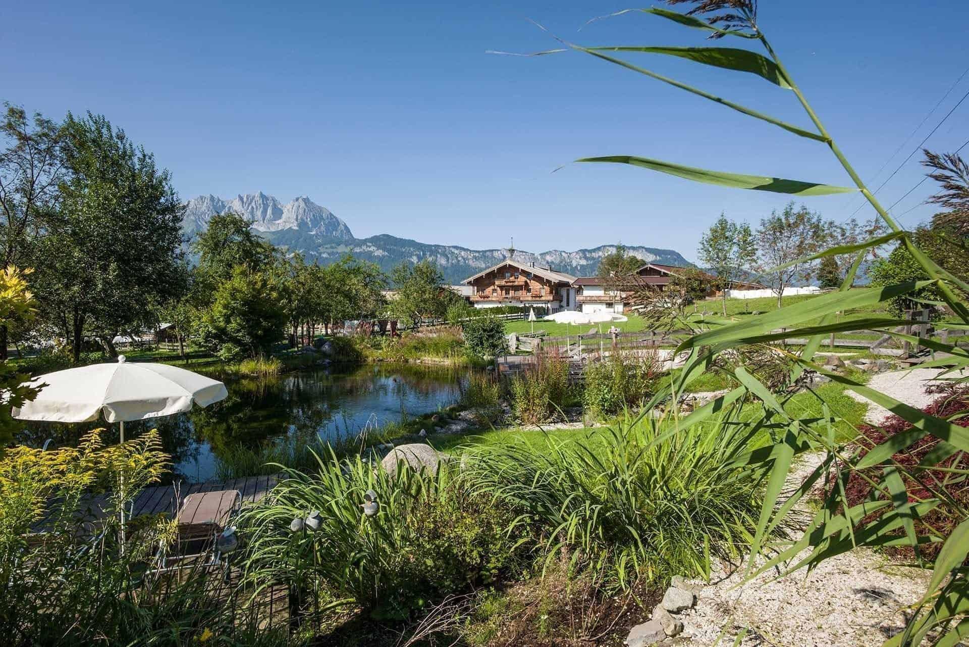 Hotel Penzinghof Oberndorf See Aussicht